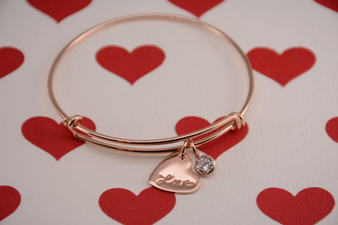 Love bracelet - Sash Jewelry