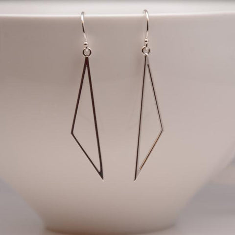 Triangle Earrings - Sash Jewelry