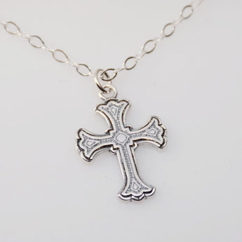 Cross Necklace - Sash Jewelry
