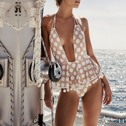 Althea Polka Dots One Piece