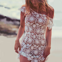 Lia Crochet Dress