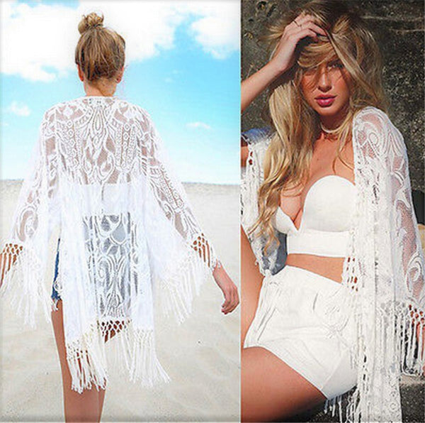 Lace Tassels Cover