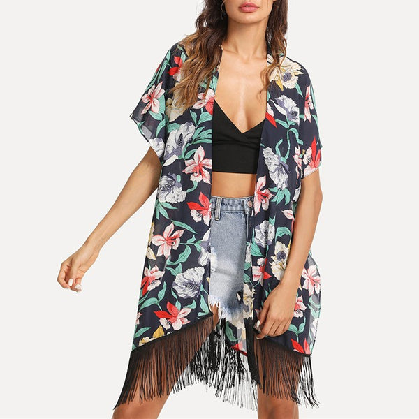 Nellie Floral Beach Cover