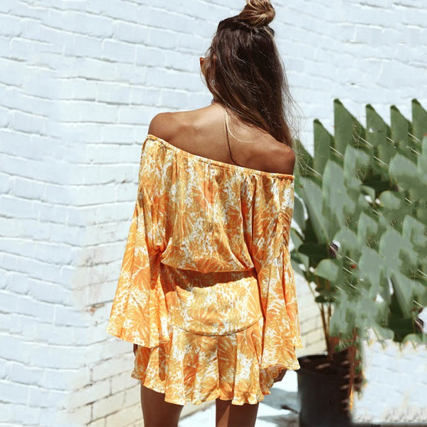 Amber Bright Playsuit