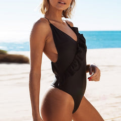 Breena Ruffle One Piece
