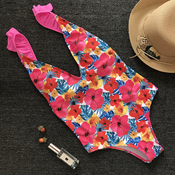 Floral Toscana One Piece