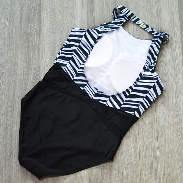 Clear Stripes One Piece