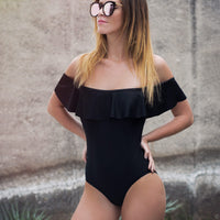 Bianca Ruffle One Piece