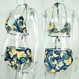 Banana High Waist Bikini
