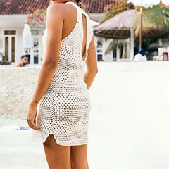 Sarakiniko Crochet Dress