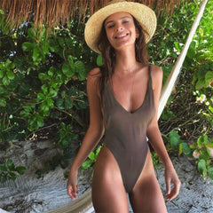 Trimmed Suit One Piece