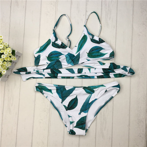 Spark Fresh Leaves Bikini