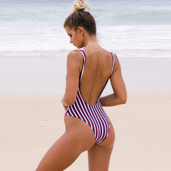 Jolene Stripes One Piece