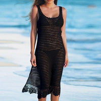 Maxi Crochet Beach Dress