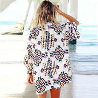 Geometric Beach Cover