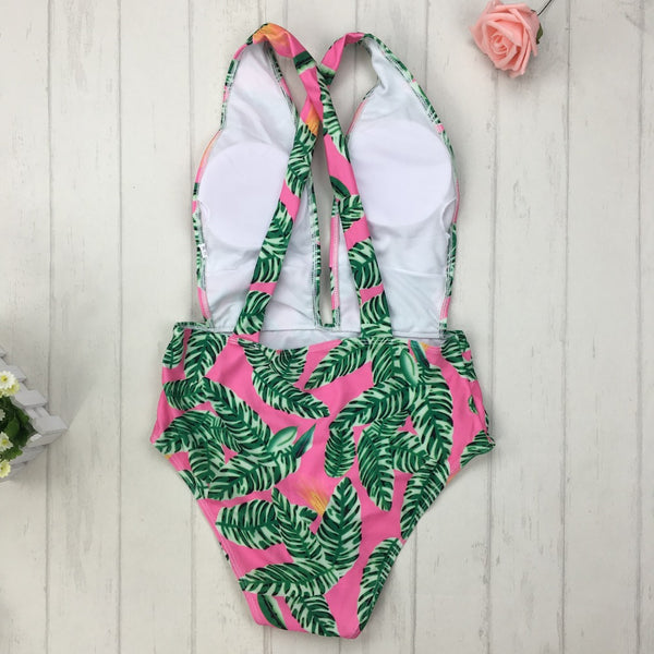 Tropical Leaves One Piece