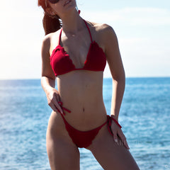 Red Summer Bikini