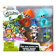 World of Nintendo Splatoon Turf War Battle Set