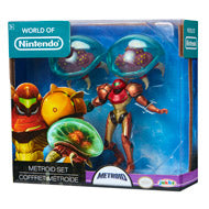 World of Nintendo Metroid Set 3 Pack