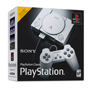 PlayStation Classic Console with 2 Wired Controllers