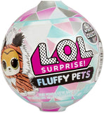 LOL Surprise! Winter Disco Fluffy Pets Series with Removable Fur