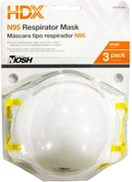 N95 Disposable Respirator Small Blister (3-Pack)