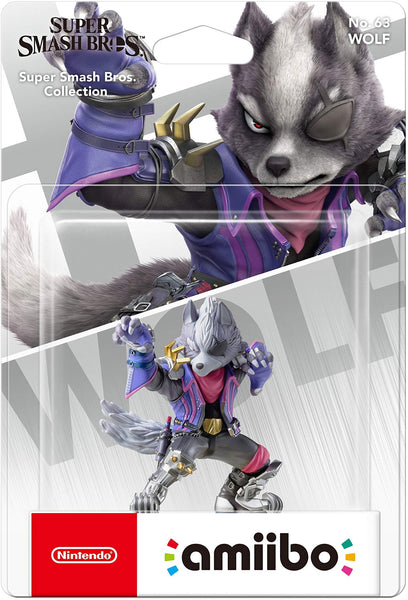 Nintendo Amiibo Wolf (Super Smash Bros. Series)