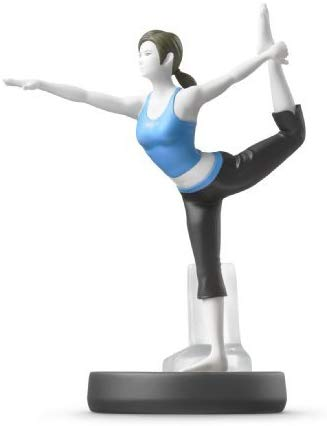 Nintendo Amiibo Wii Fit Trainer (Super Smash Bros. Series)