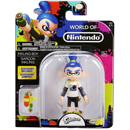 World of Nintendo Splatoon Inkling Boy 4 Inch Collectible