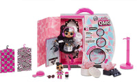 L.O.L. Surprise! O.M.G. Winter Disco Dollie Face Fashion Doll & Sister
