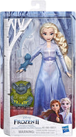 Disney Frozen Elsa Fashion Doll in Travel Outfit Inspired by Frozen 2 with Pabbie & Salamander Figures