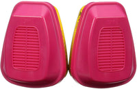3M Replacement Cartridges for Professional Multi-Purpose Respirator OV/AG/P100 Pink Standard