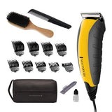 Remington, Virtually Indestructible Haircut Kit & Beard Trimmer, Hair Clippers for Men (15 pieces) - HC5855