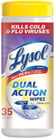 Lysol Dual Action Disinfecting Wipes - Citrus Scent - 35 Wipes