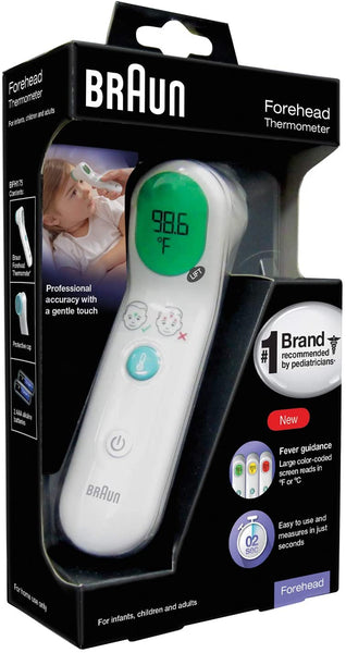 Braun Forehead Thermometer Model BFH-175