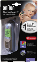 Braun Thermoscan 7 Digital Ear Thermometer IRT6520
