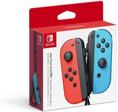 Nintendo Switch Joy-Con Controllers (L/R)-Neon Red/Neon Blue