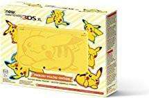 Nintendo New 3DS XL Console Pikachu Edition (Yellow)