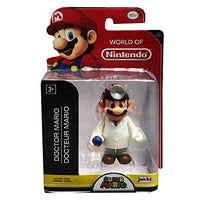World of Nintendo Dr. Mario 2.5 Inch Collectible Figurine