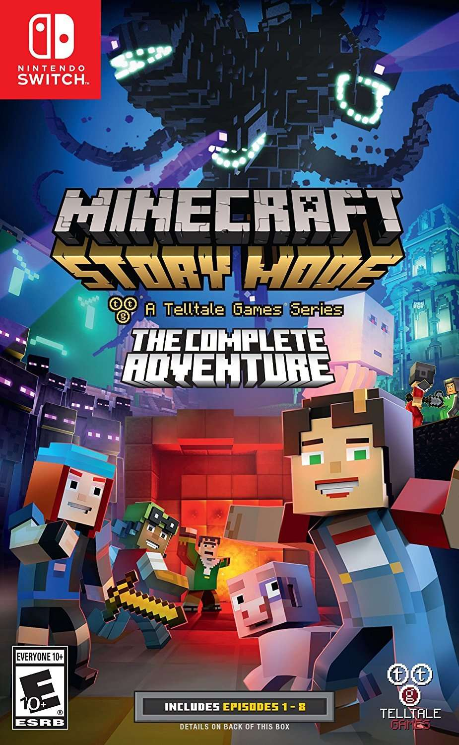 Minecraft: Story Mode The Complete Adventure for Nintendo Switch  AceBeach
