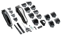 Andis 68120 Headstyler/Headliner Combo 27-Piece Haircutting Kit, Black