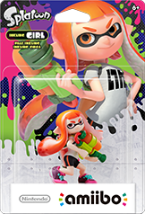 Inkling Girl Amiibo (Splatoon Series)