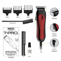 Wahl T-Pro Trimmer, Corded Hair and Beard Trimmer, Compact, Great for Travel, Includes Three Guide Combs, for A Shave Every Time, 9307-300