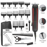 Wahl T-Styler Pro Bump Free Corded Beard Trimmer, Hair Clipper, Haircut Clipper & Grooming Detailer Kit for Men – For Edging Beards, Mustaches, Hair, Stubble, Ear, Nose & Body – Model 9686-300