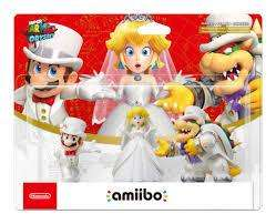 Amiibo - Mario/Peach/Bowser (Wedding 3-Pack) (Super Mario Odyssey Series)
