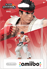 Ryu Amiibo (Super Smash Bros. Series)