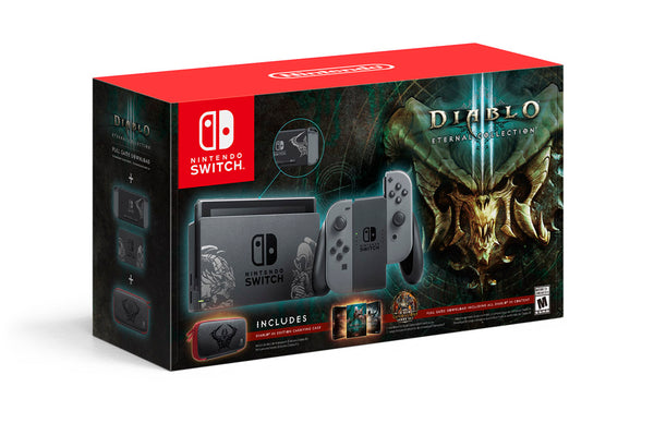 Nintendo Switch Diablo 3: Eternal Edition Console Plus Carrying Case