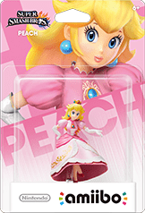 Peach Amiibo (Super Smash Bros. Series)