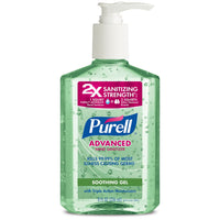 Purell Advanced Hand Sanitizer With Pump - Soothing Gel (8 fl oz.)