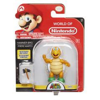 World of Nintendo Hammer Bro. 4 Inch Collectible Figurine